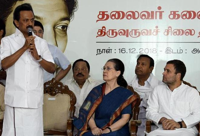 Stalin proposes Rahul Gandhi as PM candidate