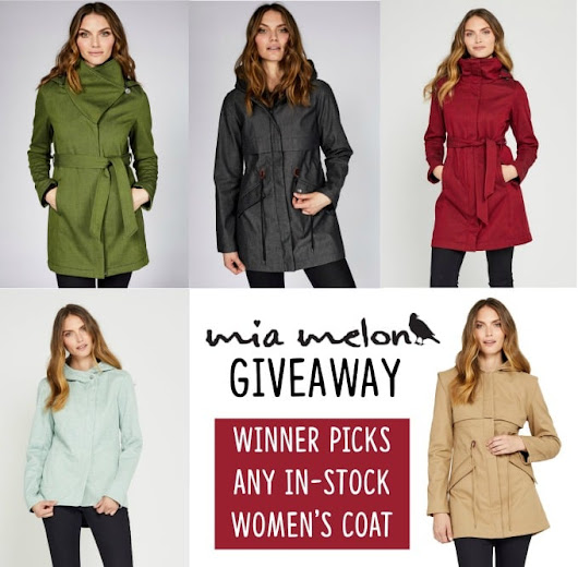 Stylish Raincoats for Women and Men (PLUS, a GIVEAWAY)