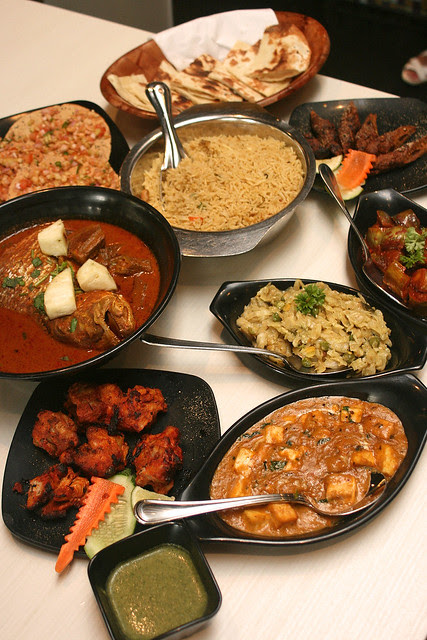 Sumptuous feast at Muthu's Curry