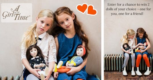 A chance to win two dolls from @AGirlForAllTime
