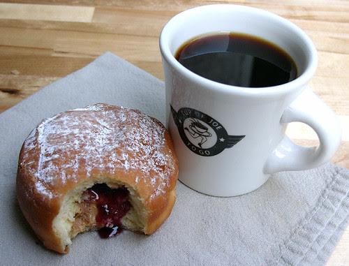 frittelli's pbj doughnut