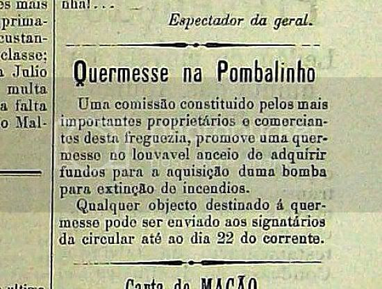 Quermesse Pombalinho