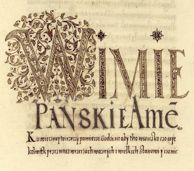 embellished letter 'W'