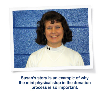 » Susan's Story: How Donating Blood Saved Her Life