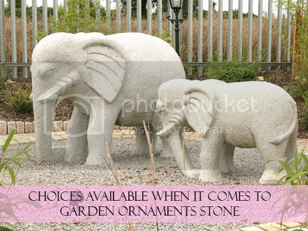 Choices Available When It Comes to Garden Ornaments Stone
