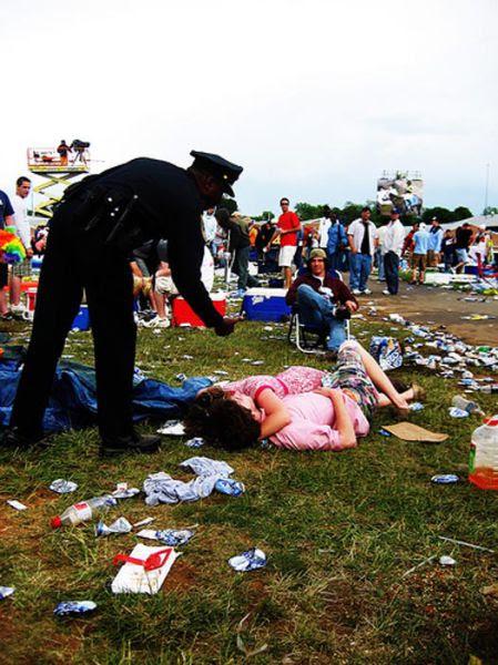 The Drunken Mayhem of the Preakness Infield
