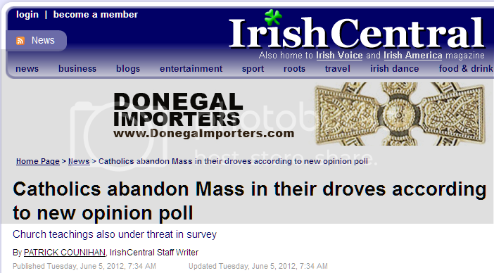 Catholics abandon Mass in their droves according to new opinion poll