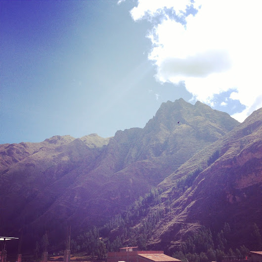A quick break in the Sacred Valley