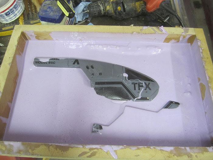 M-3 Pistol Mold Second Half2464