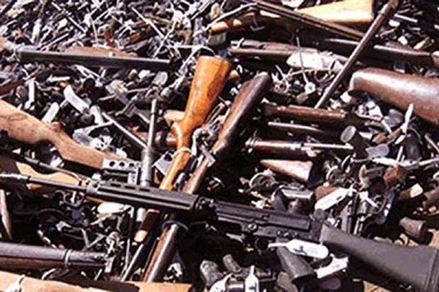 El programa de desarme voluntario se encuentra suspendido