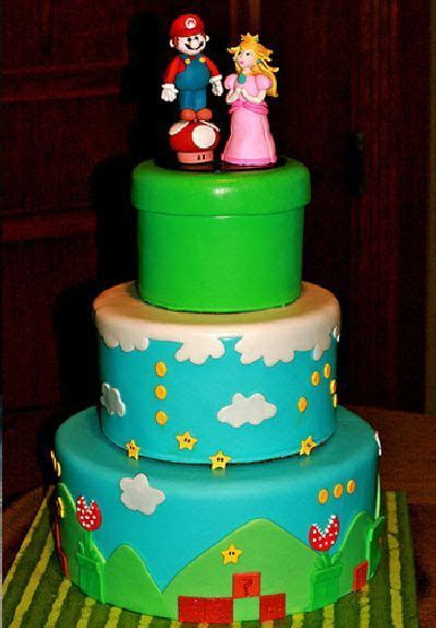 50 Awesome Super Mario Cakes ~ Damn Cool Pictures