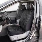 Swarovski Black Diamond Stitched Seat Cover Combo