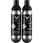 Coravin 1000 Argon Gas Capsules (Pack of 2), Black