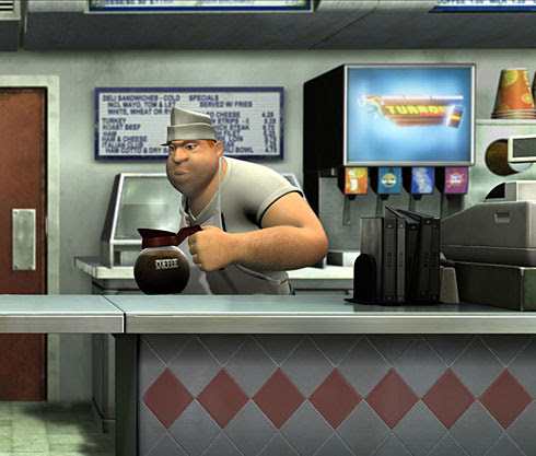 Kevin Smith as a currently unnamed fast food clerk