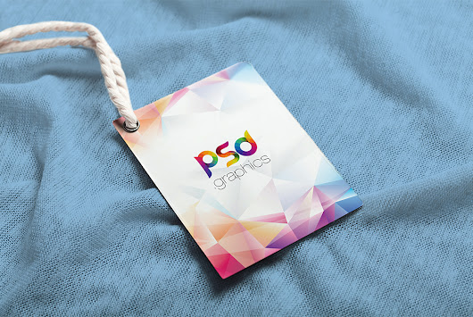 Label Tag Mockup Free PSD | PSD Graphics