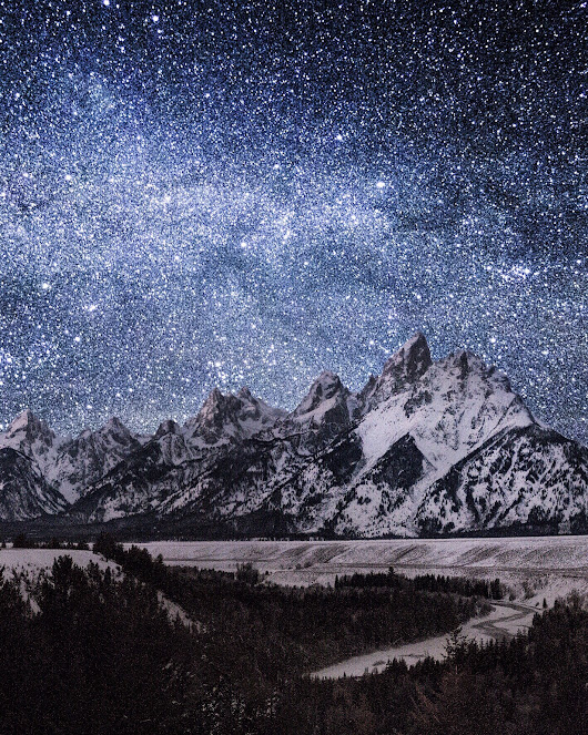 snake river overlook. grand tetons. wyoming. This  ...
