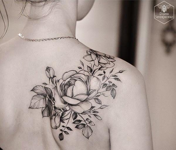 40 Eye Catching Rose Tattoos Nenuno Creative