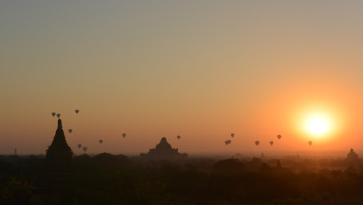 Unexpected Myanmar: Chasing the sun in Bagan