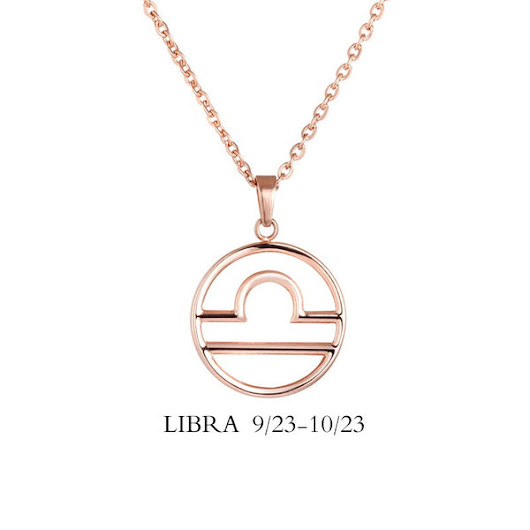 Libra Sign Necklace
