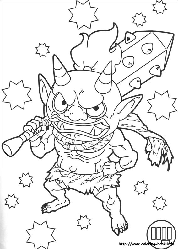 Yo Kai Watch Coloring Pages On Coloring Bookinfo