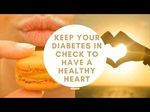 Keep your diabetes in check to have a healthy heart