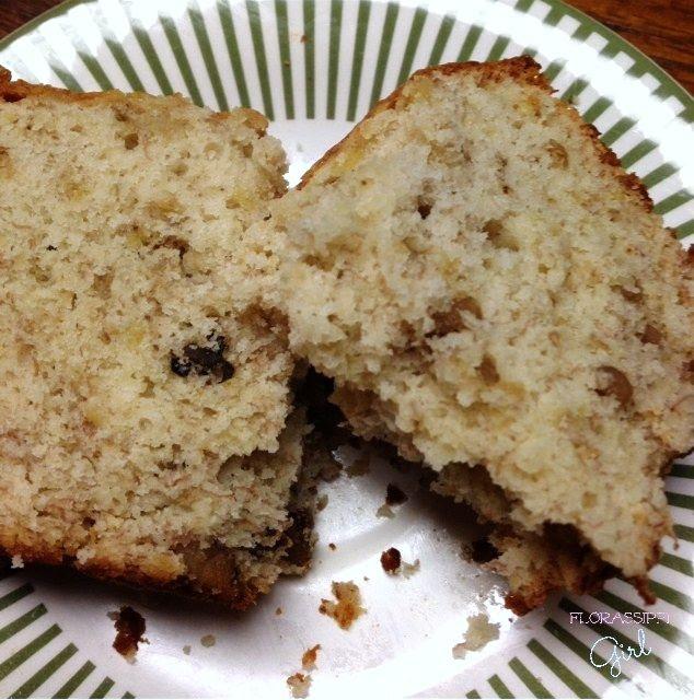 Banana-Nut Bread Cake