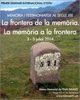 La frontera de la memòria. La memòria a la frontera