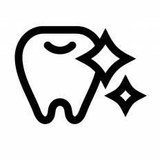 歯シルエット イラストの無料ダウンロードサイトシルエットac