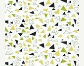 CLEARANCE SALE---1 yard---Tufts in Outwitted, Outfoxed, Lizzy House, Andover Fabrics