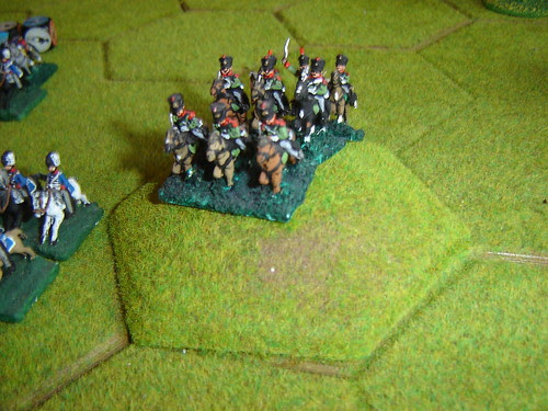 With Prussian cavalry joining their English allies