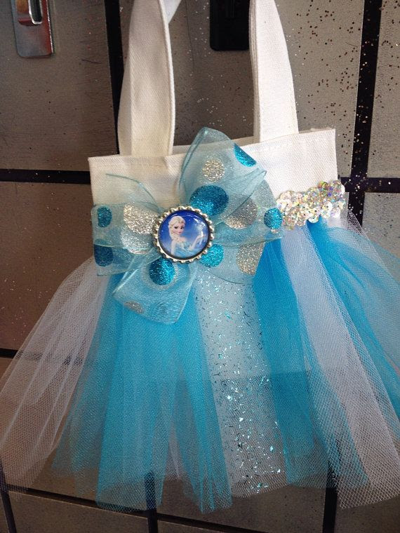 Frozen Mini Tote Bag Party Pack 6 Favor by Hollywoodprincess2