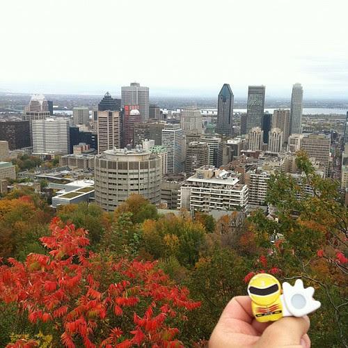 モントリオールを一望