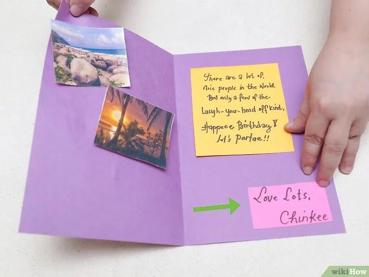 Cara Membuat Kartu Ucapan Selamat Ulang Tahun Dari Kertas ...