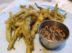 tempura salicornia, Erizo