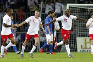 Дефо принес победу англичанам над итальянцами
