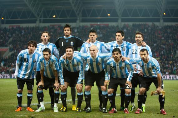 Argentina team 2014 World Cup