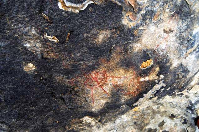 Pinturas rupestres extraterrestres