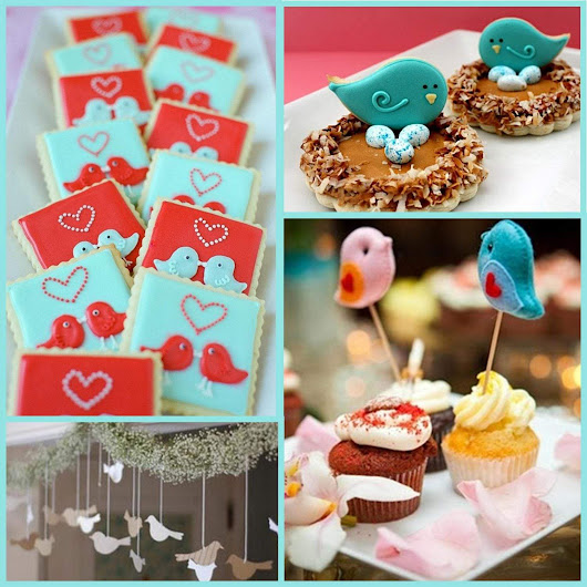 Valentine's Day: Love Birds Party Ideas