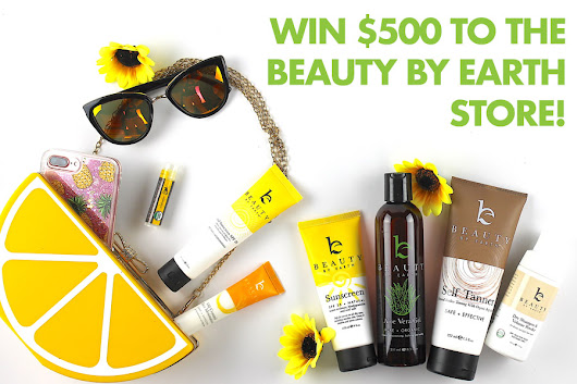 Enter to win $500 to the Beauty By Earth store!