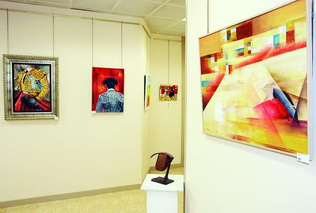 Algunas de las obras que concurrieron al concurso el pasado año.  OSCAR NAVARRO