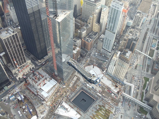 ThyssenKrupp Elevator - One World Trade Center Escalator Hoisting