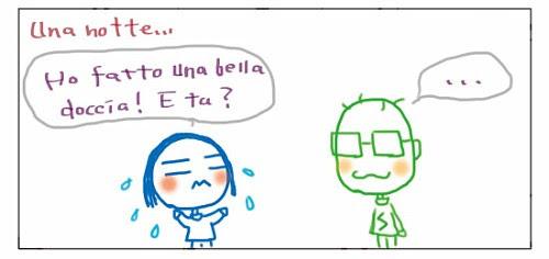 Ho fatto una bella doccia! E tu? ...
