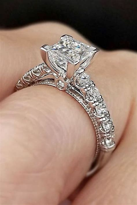20 Most loved Princess Cut Engagement Rings