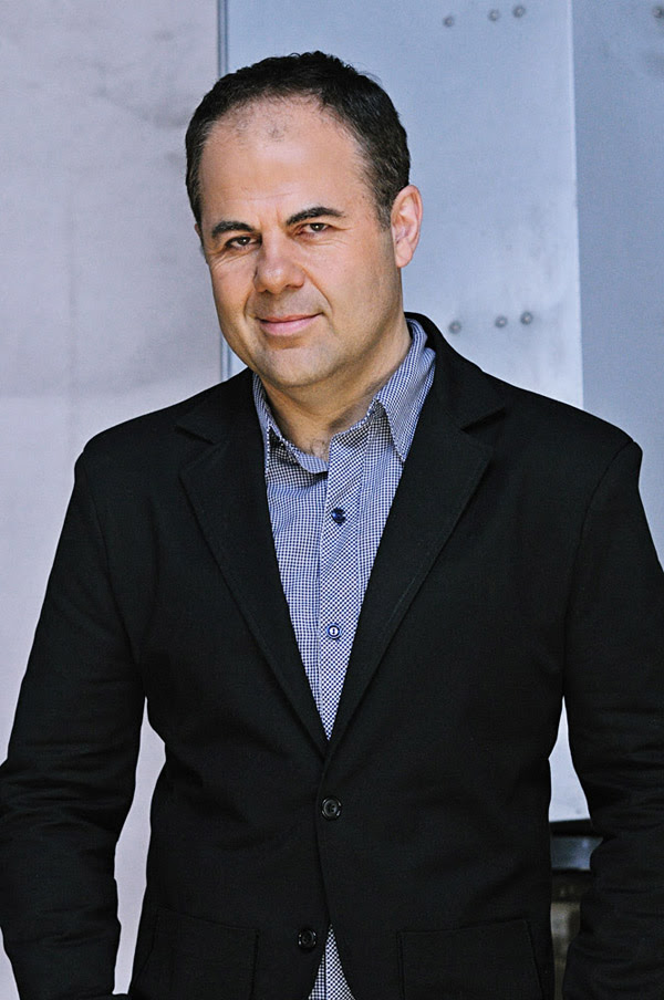 TVS Presenter Yianni Zinonos, Midshot, PR portrait