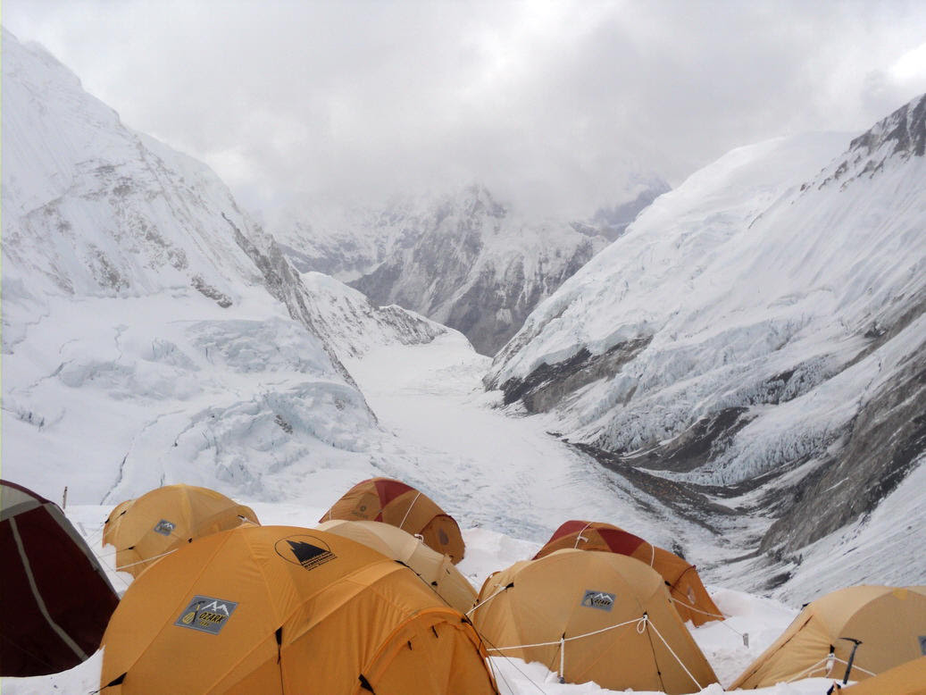 Image result for Camp 3 everest
