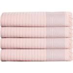 Bliss Turkish Hand / Kitchen Towel Bundle, Blush