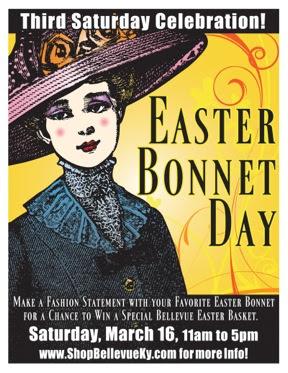 Wear our Easter Bonnet!