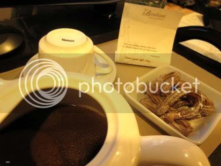 Hot Chocolate and Churros at bedtime