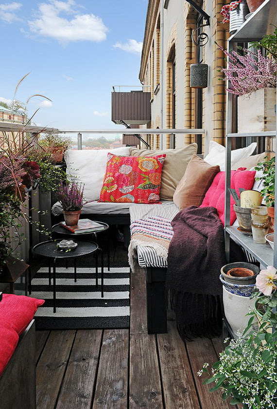25 Balcony ideas: It's spring, enjoy the fresh air ...