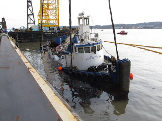 Crewmember fatigue causes fatal tugboat sinking